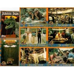 Jurassic Park Set Complet 88 cartes