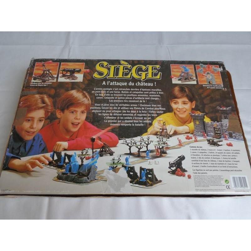 si ge a l 39 attaque du chateau jeu mb 1993 jouets r tro jeux de soci t jeux vid o livres. Black Bedroom Furniture Sets. Home Design Ideas