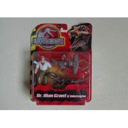 Figurine Jurassic Park III - Grant Velociraptor
