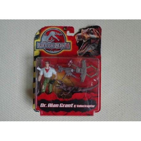 Jurassic park iii grant velociraptor figurine jouets - Jeux de jurassic park 3 ...