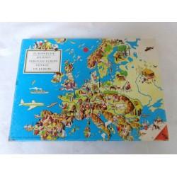 Voyage en Europe - Ravensburger 1954