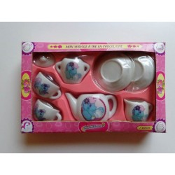 Service à thé en porcelaine Mon Petit Poney
