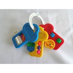 Hochet porte-clés Fisher Price