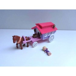 Roulotte gitane Polly Pocket - 1995