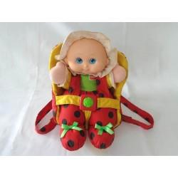 Poupée coccinelle Lil'Lady Bug et son porte bébé - Playskool