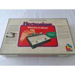 Electronique Détection et alarme - jeu Laffont 1984