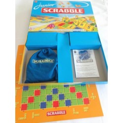 scrabble junior jeu mattel 2009 jouets r tro jeux de soci t jeux vid o livres objets vintage. Black Bedroom Furniture Sets. Home Design Ideas