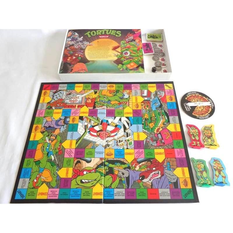 Tortues ninja un combat impitoyable jeu mb 1990 jouets - Jeux de tortues ninja gratuit ...