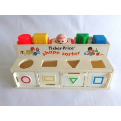 Jeu de formes Shape Sorter - Fisher Price 1974