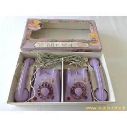 Téléphones jouets à piles Sweet Plum - Mehanotehnika 1983
