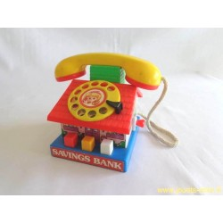 Téléphone tirelire - Artech 1983
