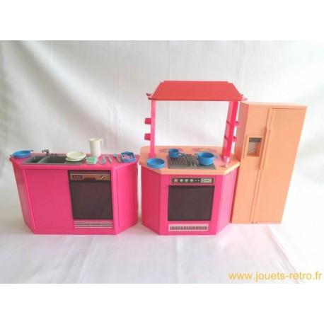 cuisine de barbie mattel 1986