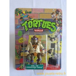 Don, the undercover turtle - Wacky Action 1990 Playmates - TMNT Les Tortues Ninja