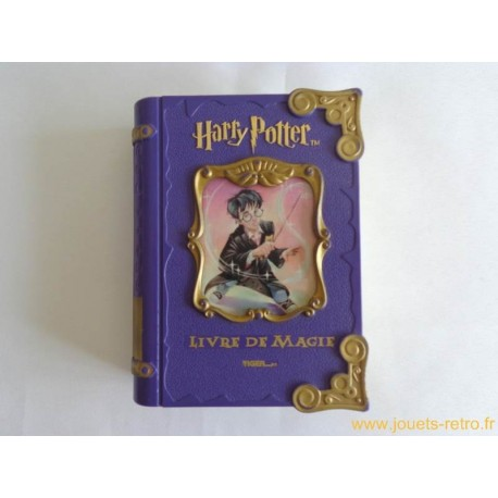harry potter livre de magie tiger 2001 jouets r tro jeux. Black Bedroom Furniture Sets. Home Design Ideas