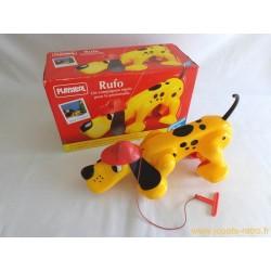Chien à tirer Rufo en boite Playskool