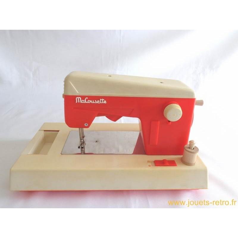 Machine coudre ma cousette jouets r tro jeux de for Machine a coudre king jouet