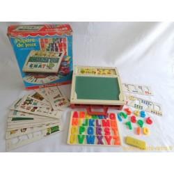 Pupitre de jeux Fisher Price School Days Desk 1972
