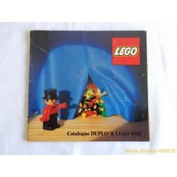Catalogue Duplo et Lego 1988