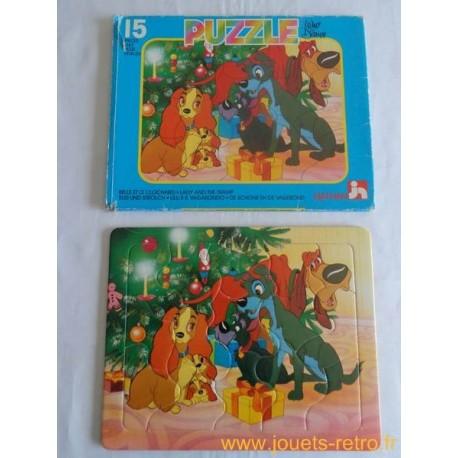 Belle et le clochard - Puzzle Disney Nathan