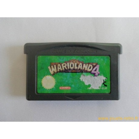 Wario Land 4 - Jeu Game Boy Advance GBA