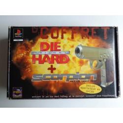 Coffret Die Hard Trilogy + Scorpion Recoil Light Gun