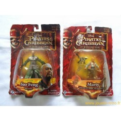 Lot de 2 figurines Pirates des Caraïbes : Jusqu'au bout du monde