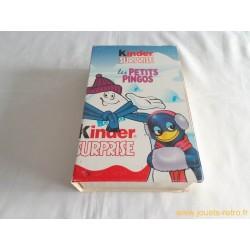 Coffret livre Kinder Surprise Les Petits Pingos
