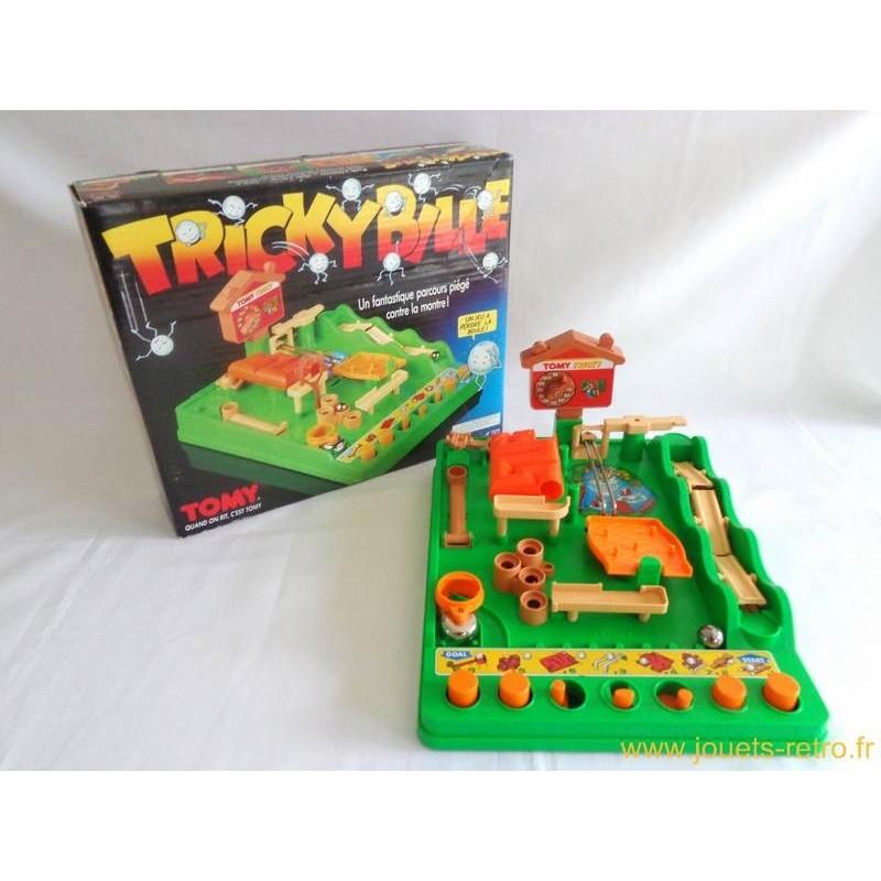 tricky bille jeu tomy 1989 jouets r tro jeux de soci t jeux vid o livres objets vintage. Black Bedroom Furniture Sets. Home Design Ideas