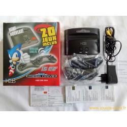 Console Sega Megadrive H&B SM-2604 20 jeux intégrés