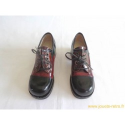 Chaussures femme cuir verni vintage