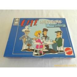 Café International - Jeu Mattel 1989