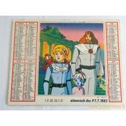 Almanach des PTT 1983 Ulysse 31