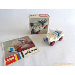 Boite Lego Legoland 330 Jeep