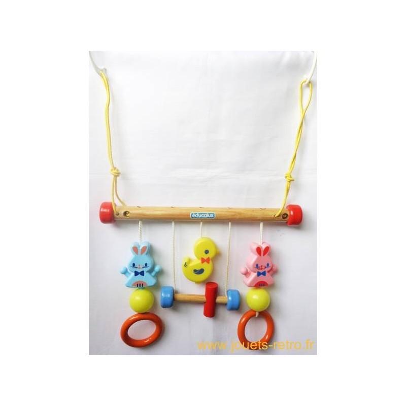jouet pour parc et berceau educalux jouets r tro jeux. Black Bedroom Furniture Sets. Home Design Ideas