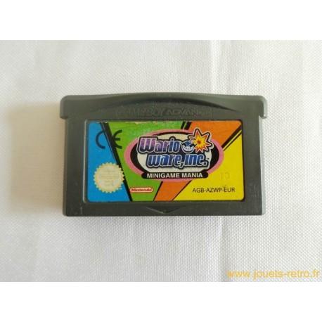 Wario Ware Inc. : Mega Mini-Jeux - Jeu Game Boy Advance GBA