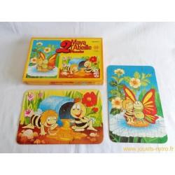 Maya L'Abeille 2 puzzles Schmid 1978