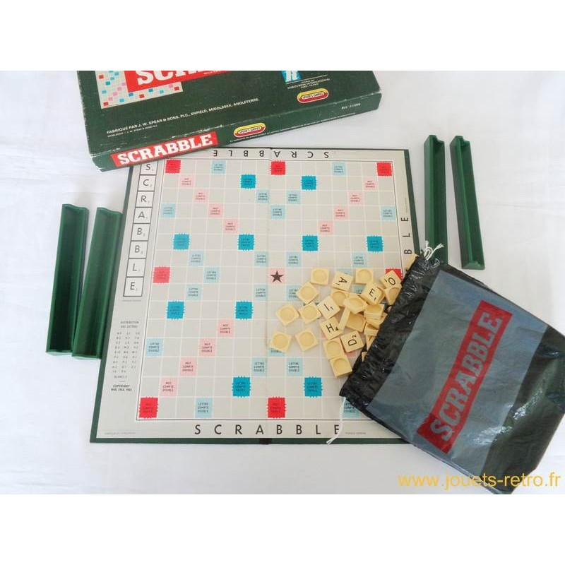 scrabble jeu spear 1955 jouets r tro jeux de soci t jeux vid o livres objets vintage. Black Bedroom Furniture Sets. Home Design Ideas