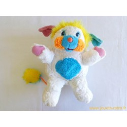 Grand Popples Original Puffball Blanc - Mattel 1986