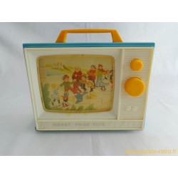 Télévision musicale Fisher Price 1981