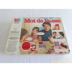 Mot de Passe jeu MB 1978