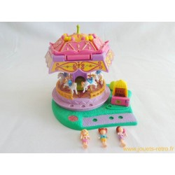 Polly Pocket Spin Pretty Carousel Playset 1996