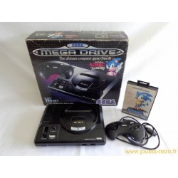 Pack console Sega Megadrive Sonic en boite complète