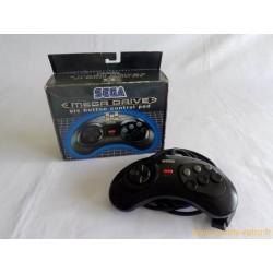 Manette 6 boutons Sega Megadrive II en boite