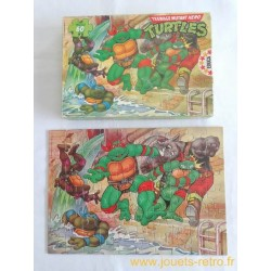 "Tortues Ninja "" A l'attaque"" puzzle Educa 1990"
