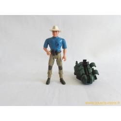 Jurassic Park - Dr Alan Grant figurine Kenner 1993