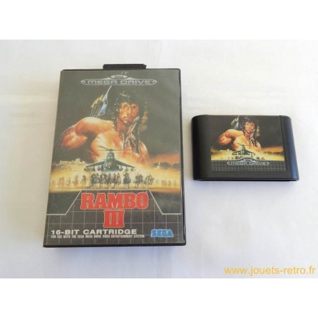 Rambo III - Jeu Megadrive