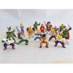 Dragon Ball lot de 16 figurines AB 1989