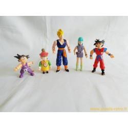 Dragon Ball lot de 5 figurines 1989