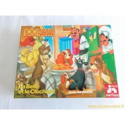 La Belle et le Clochard Puzzle Nathan 1977