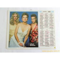 Almanach du facteur 1989 Santa Barbara